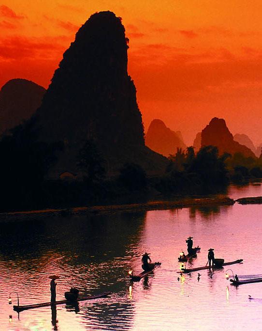 正月初二桂林山水-阳朔骑行