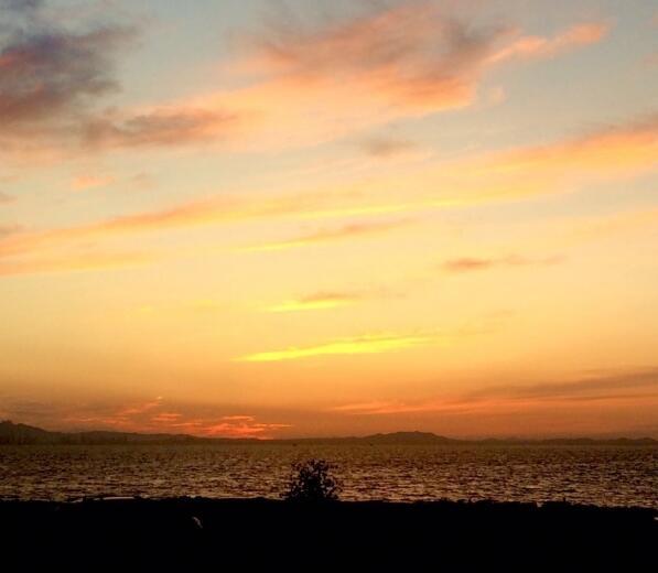 夕阳无限好,爱上烟台的夜夜