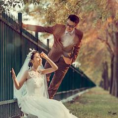 美丽婚纱照就得秀出来