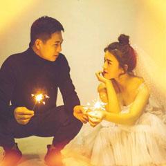 纪念我们独一无二的婚纱照