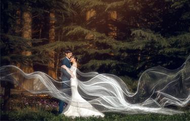 婚纱照就要与众不同